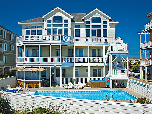 summer solstice 7 bedroom ocean front home in hatteras