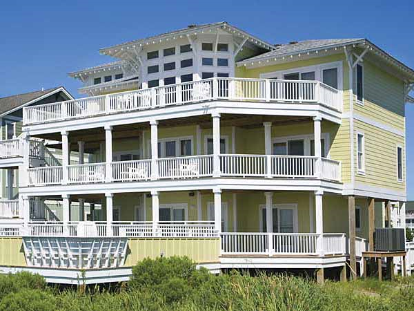 Baywatch 7 Bedroom Sound Front Home In Salvo Obx Nc