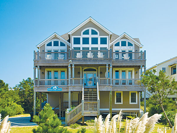 Sand Dollars 5 Bedroom Ocean View Home In Frisco Obx Nc