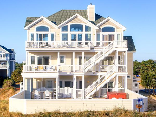 Stupendous Neptunes Nest 8 Bedroom Ocean Front Home In Avon Obx Nc Download Free Architecture Designs Sospemadebymaigaardcom