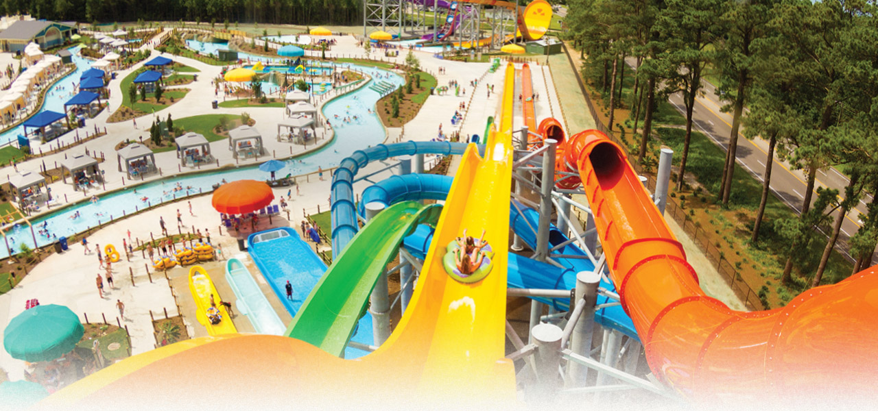H2OBX Waterpark on the Outer Banks of NC - fun for the whole family!