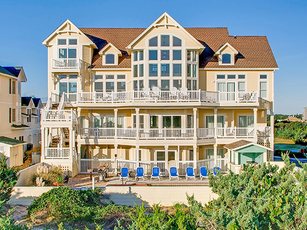 The Oasis 7 Bedroom Ocean Front Home In Avon OBX NC