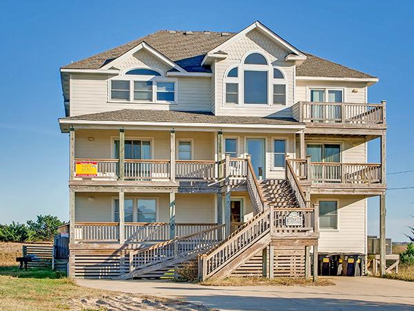 Bella Vista, 10 bedroom Ocean View home in Rodanthe, OBX, NC