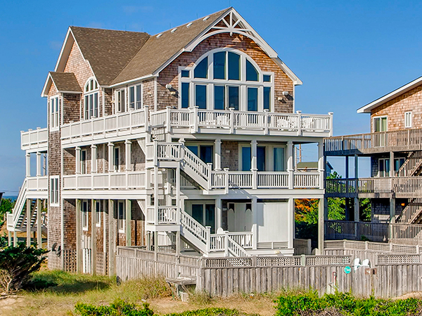 Monkeys Beach House 7 Bedroom Ocean Front Home In Avon OBX NC
