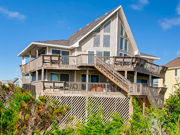 Fabulous Canary Sings 5 Bedroom Ocean Front Home In Avon Obx Nc Download Free Architecture Designs Sospemadebymaigaardcom