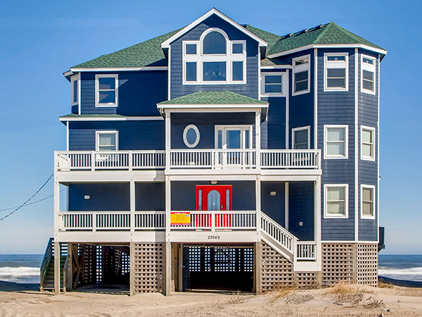Brilliant Sweet Home Carolina 7 Bedroom Ocean Front Home In Rodanthe Home Interior And Landscaping Ponolsignezvosmurscom