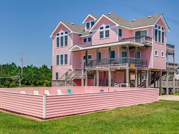 Splish Splash, 6 bedroom Ocean View home in Waves, OBX, NC