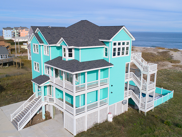 Outstanding Caribbean Paradise 8 Bedroom Ocean Front Home In Rodanthe Home Interior And Landscaping Ponolsignezvosmurscom