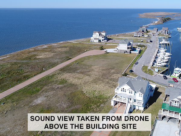 Due East, 4 bedroom Sound Side home in Hatteras, OBX, NC