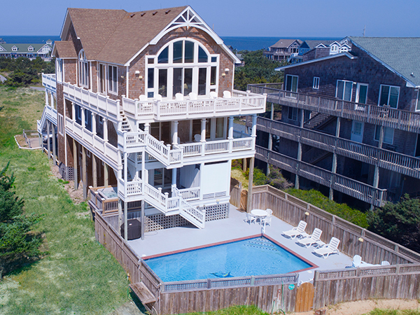 Amazing Monkeys Beach House 7 Bedroom Ocean Front Home In Avon Download Free Architecture Designs Sospemadebymaigaardcom