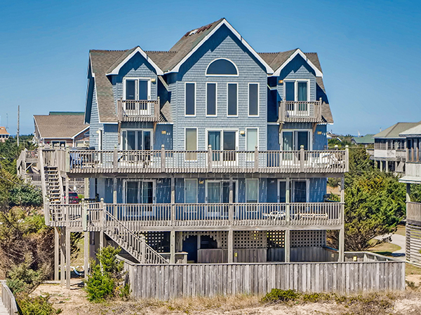 Prime Wahoo 5 Bedroom Ocean Front Home In Waves Obx Nc Interior Design Ideas Grebswwsoteloinfo