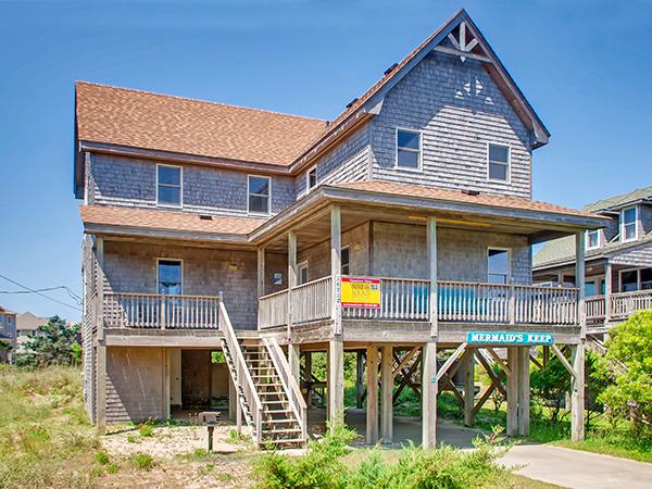 Mermaid's Keep, 3 bedroom Ocean View home in Frisco, OBX, NC