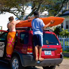 Preparing for Outer Banks kayaking