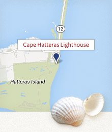 Cape Hatteras Lighthouse Map