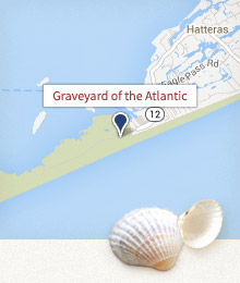 Graveyard of the Atlantic Map