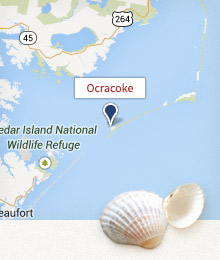 Ocracoke Day Trip Map