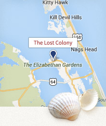 The Lost Colony Map
