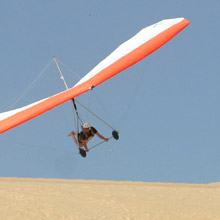 Jockey Ridge State Park hang gliding